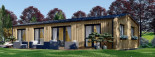 Insulated Granny Annexe NICOLE M 12.7m x 6.15m (42' x 20') visualization 1