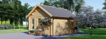 Insulated Garden Room CLOCKHOUSE 5.5m x 4m (18x13 ft) Twin Skin visualization 5