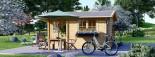 Insulated Log Cabin OSLO 5m x 4m (17x13 ft) Twin Skin visualization 6