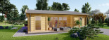 Insulated Garden Studio MILA 8m x 7m (26x23 ft) Building Reg Friendly visualization 8