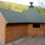 BBQ Hut With Extension 4.5m x 6.4m (15x21 ft) 44 mm 16.5 m² customer 2