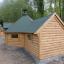 BBQ Hut With Extension 4.5m x 6.4m (15x21 ft) 44 mm 16.5 m² customer 3