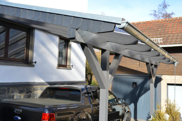 Your Guide To Wooden Carport Designs Quick Garden Co Uk